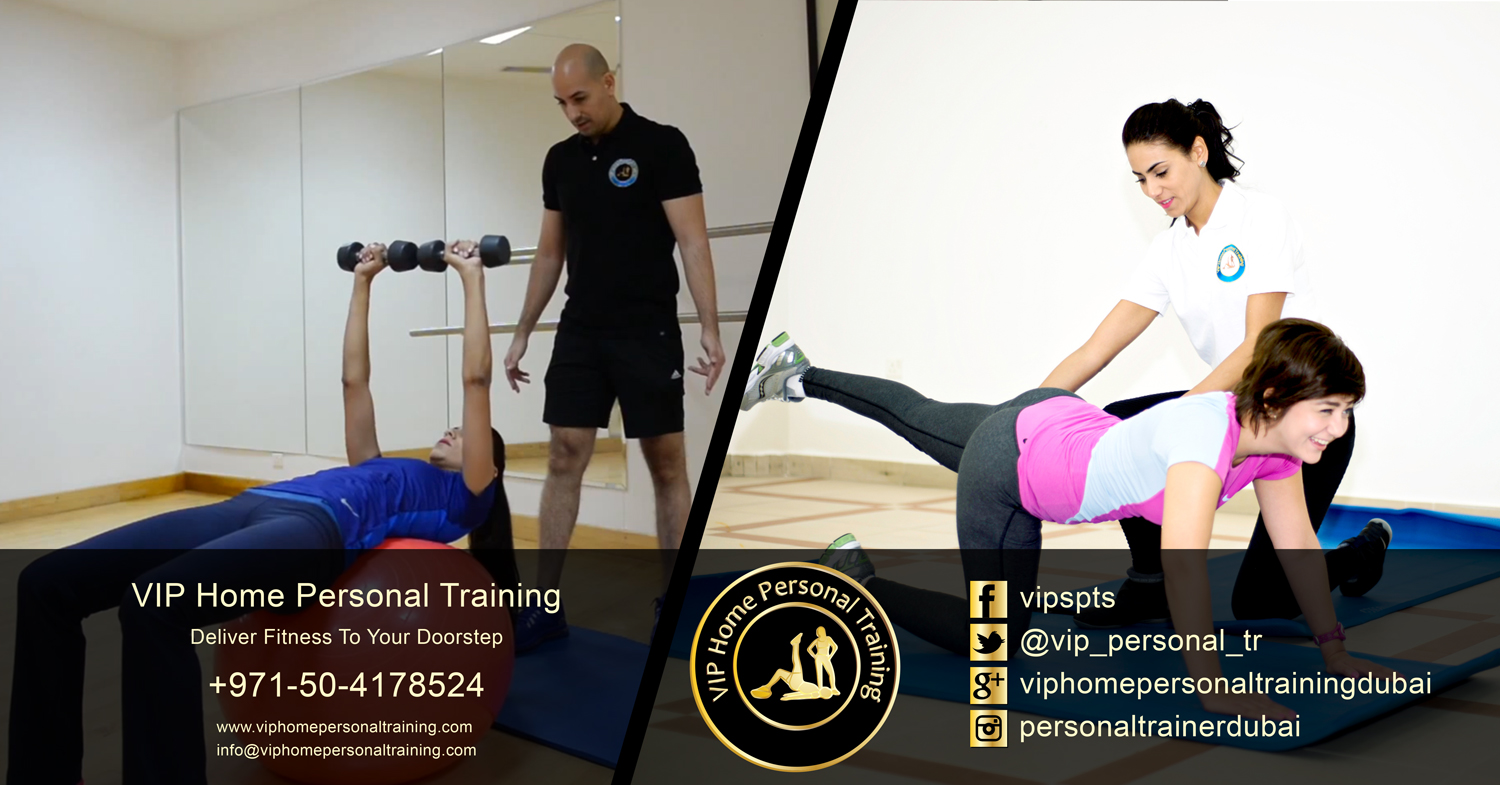 Best female personal fitness centre trainers at home in