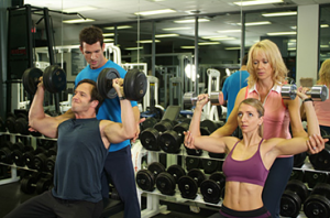 Lady personal trainer in Dubai